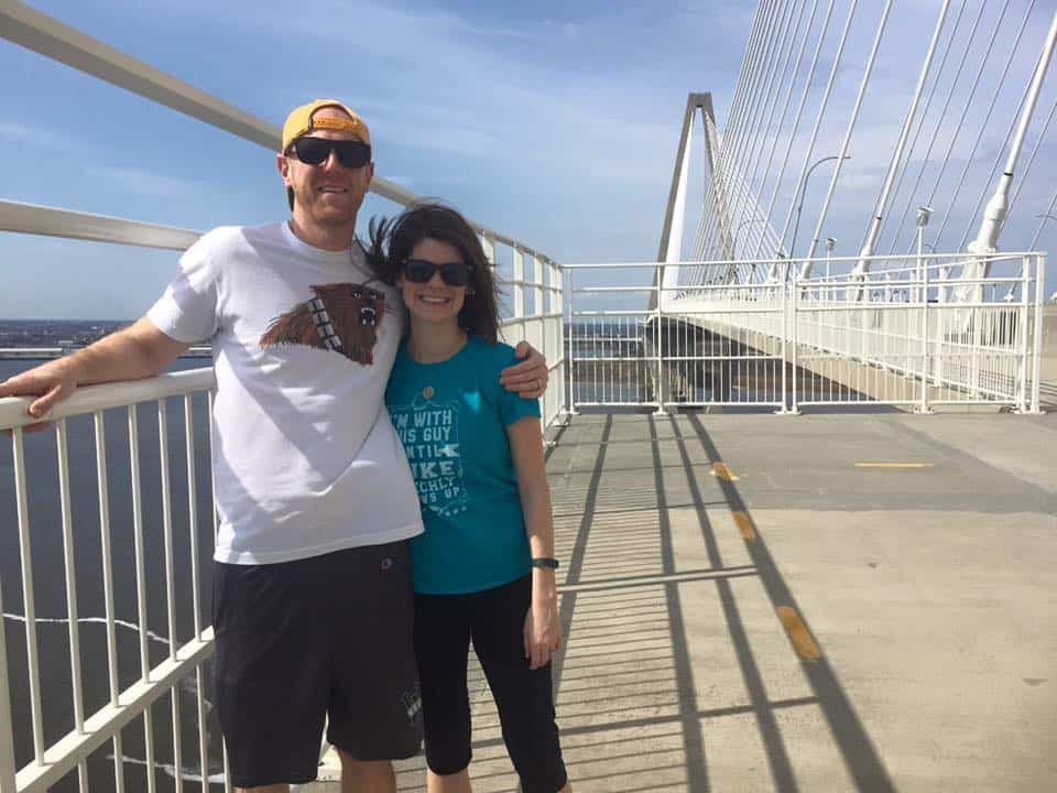 Walking the Ravenel Bridge