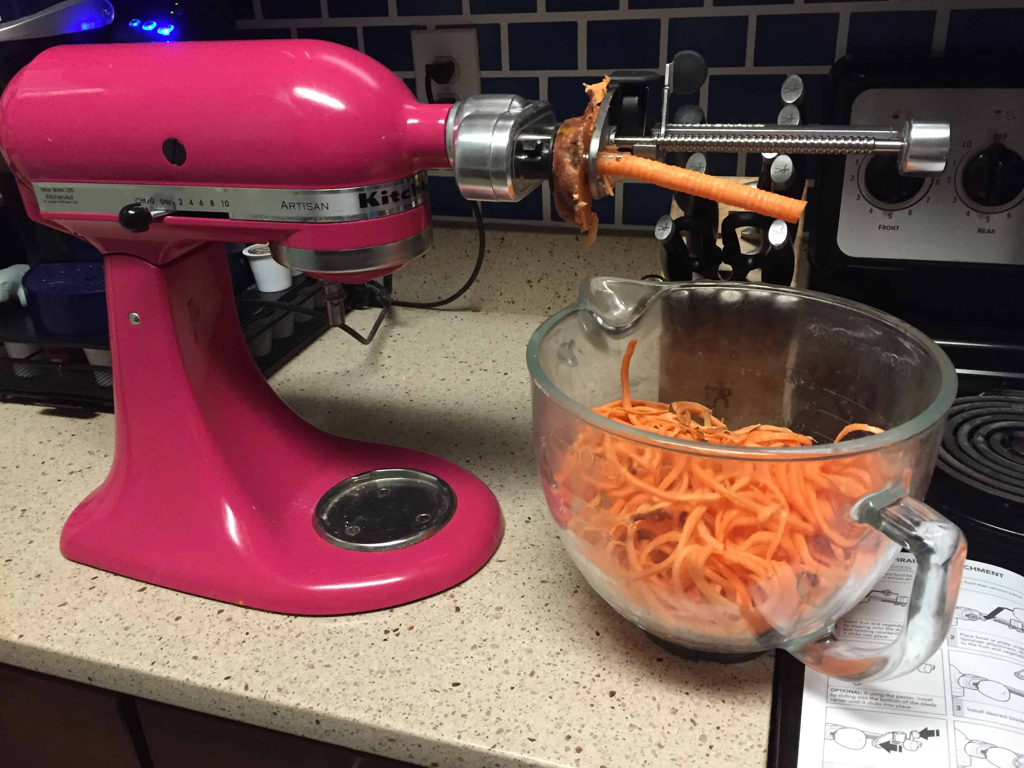 spiralizer re view - charelston crafted