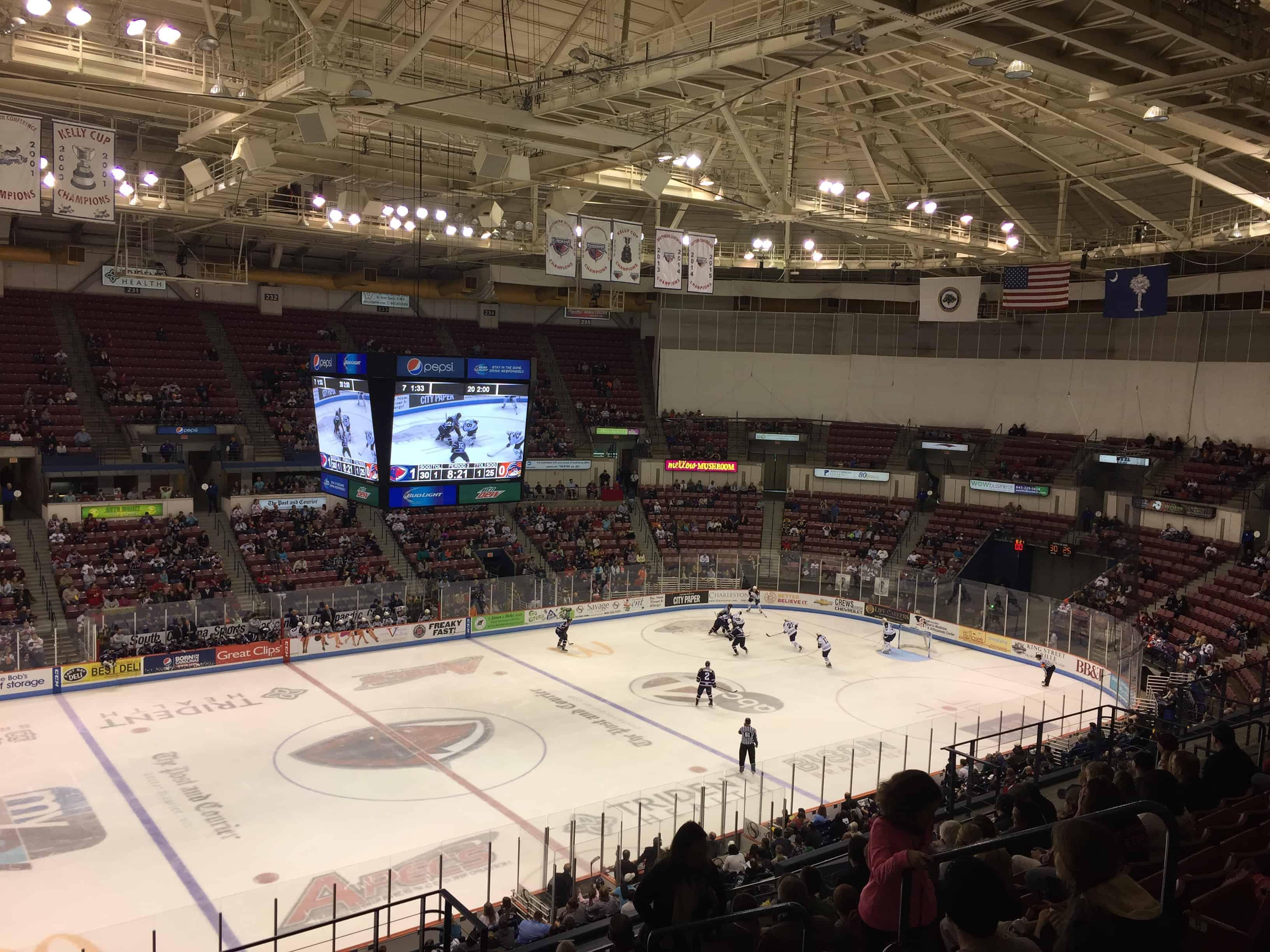 Stingrays Hockey - Charleston Crafted
