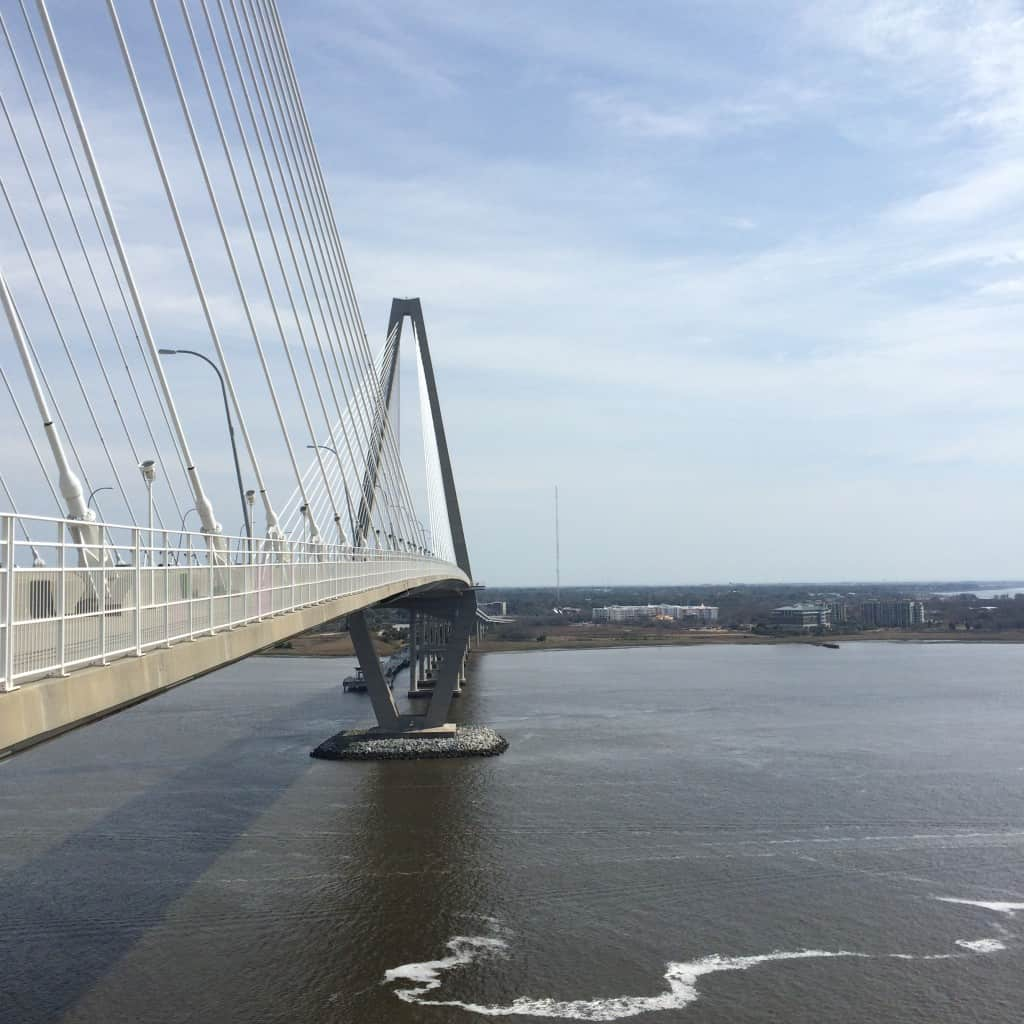 Walking the Ravenel Bridge - Charleston Crafted