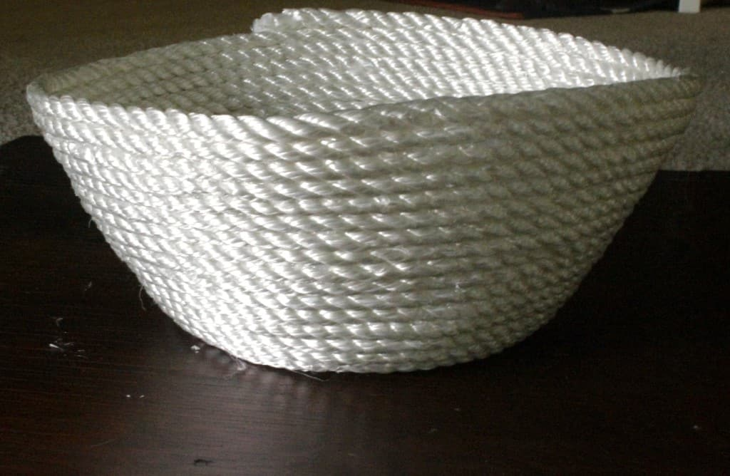 DIY Rope Bowl Tutorial & A Coastal Easter Basket for Him - Charleston Crafted