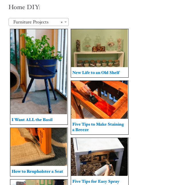 Charleston Crafted Searchable DIY Page - Charleston Crafted