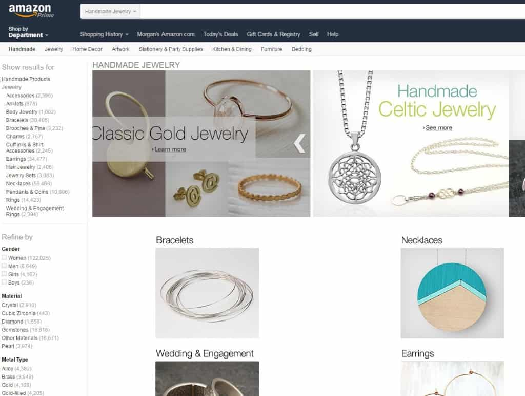 Handmade Jewelry - From Amazon! - Charleston Crafted