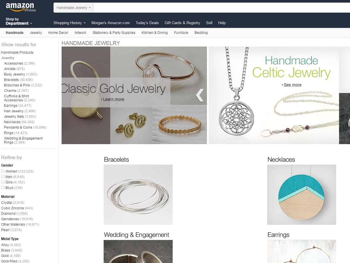 Handmade Jewelry - From Amazon! - Charleston Crafted