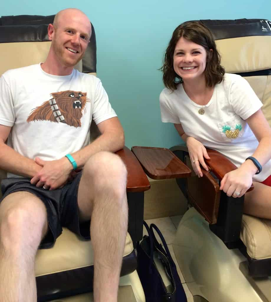 101 in 1001: Take Sean to get a Pedicure - Charleston Crafted