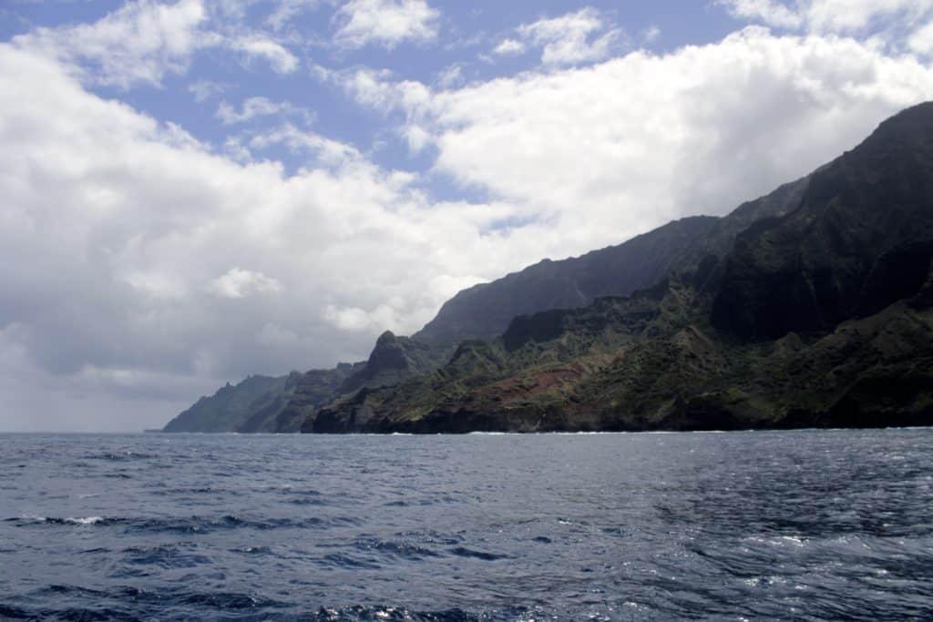 Kauai Day Four - Catamaran Sailing off the Na Pali Coast