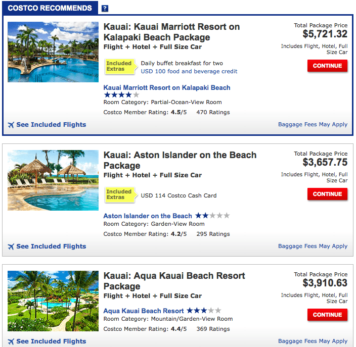 Booking Our Trip to Hawaii through Costco