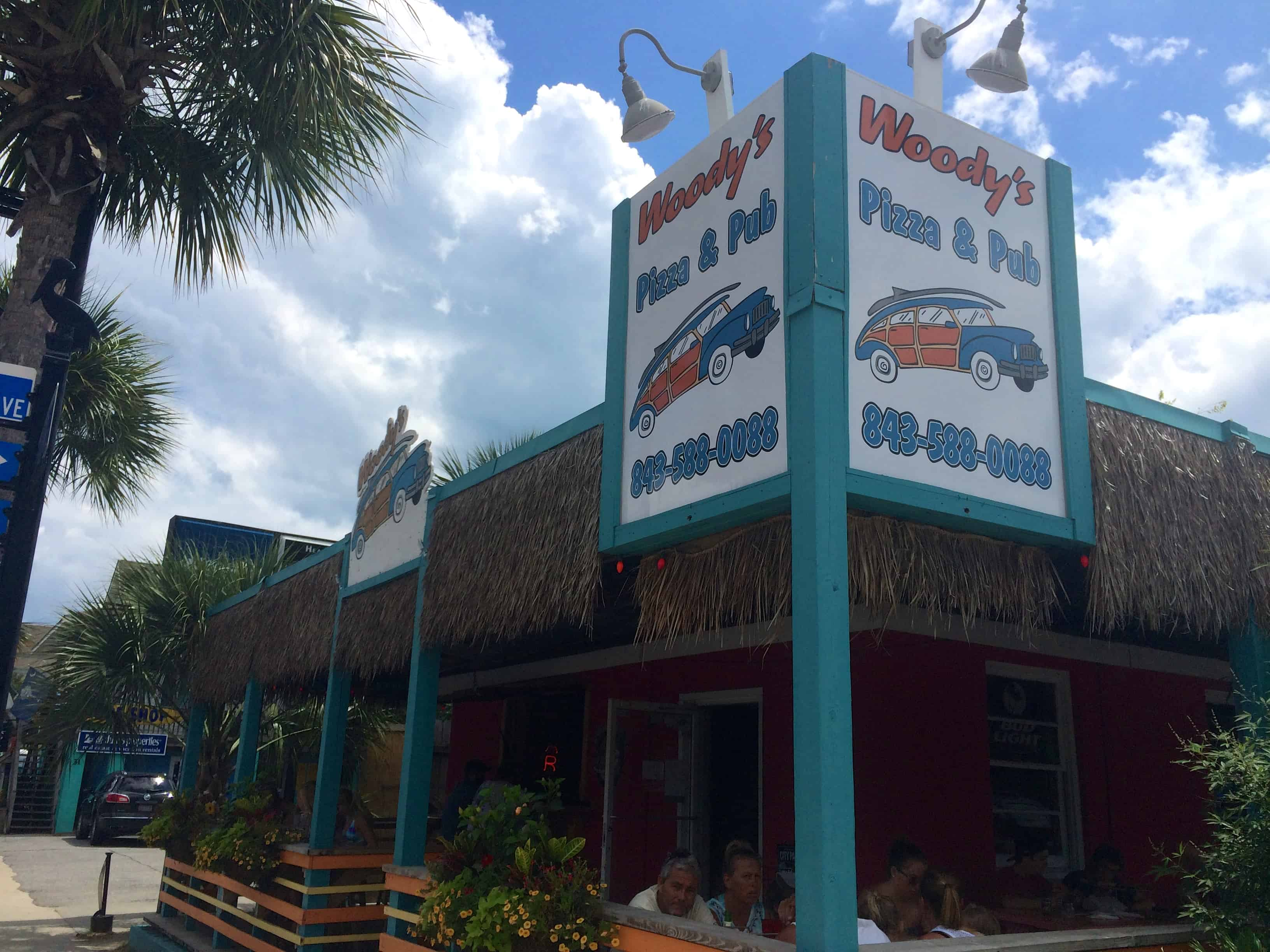 Woody's Pizza Folly Beach - Charleston Crafted