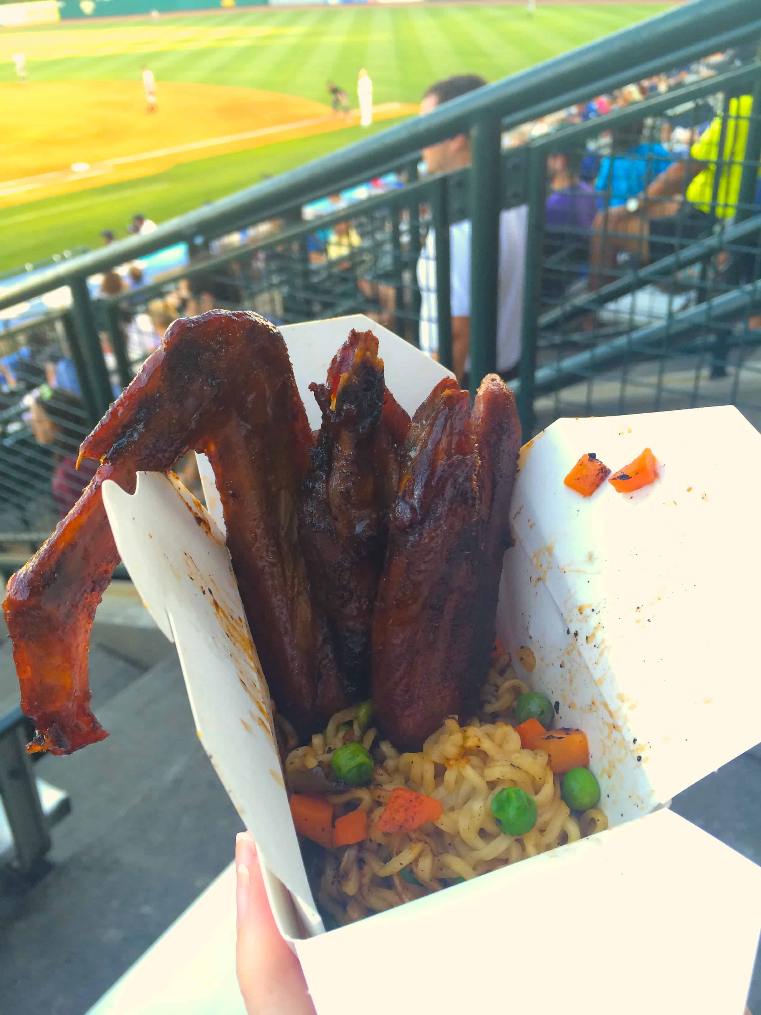 New Food at the Riverdogs 2016