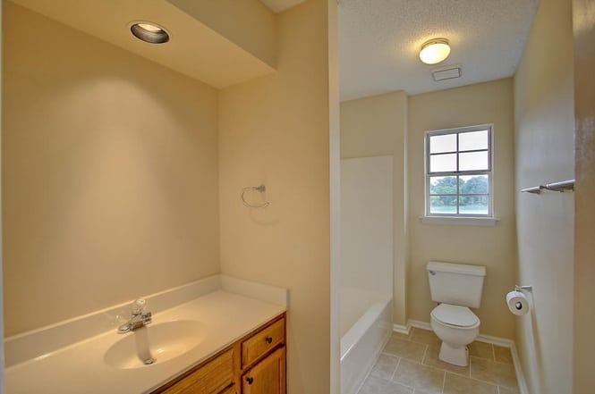 Initial guest bath - charleston crafted