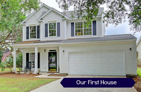 Tour our first house - Charleston Crafted