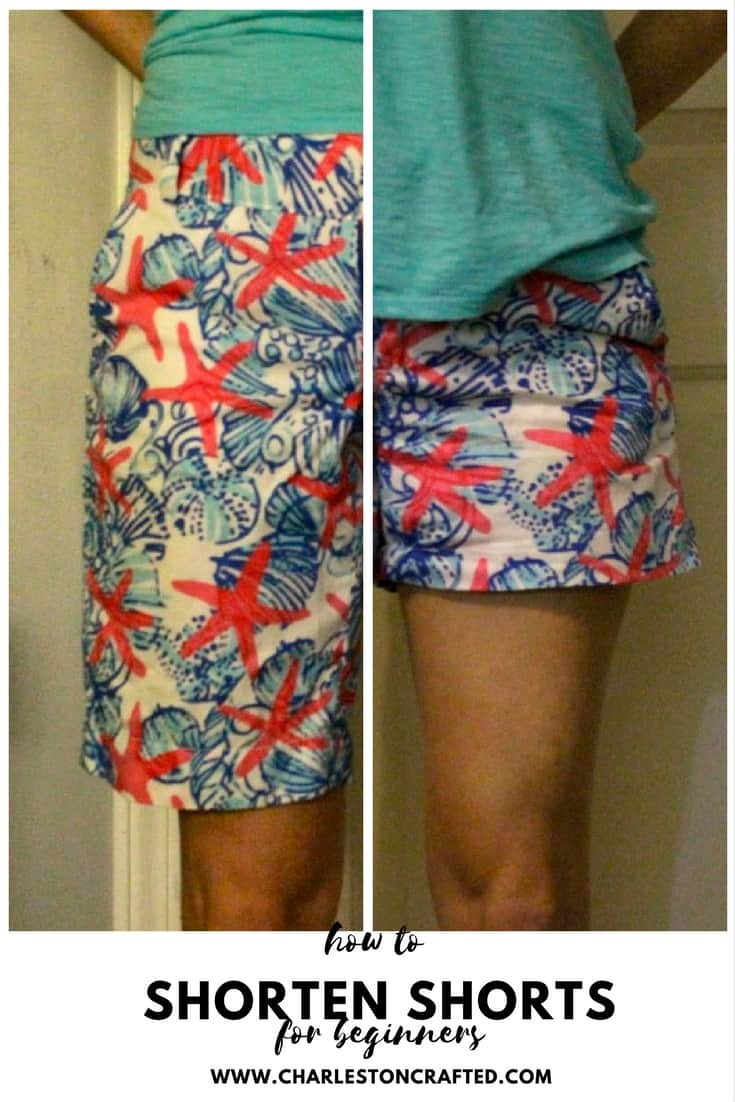 How to Shorten a Pair of Bermuda Shorts