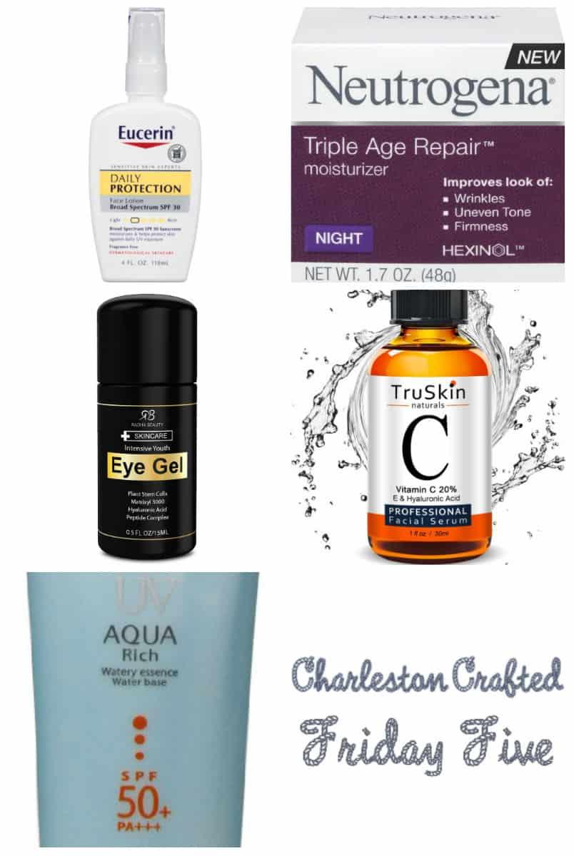 Friday Five – My Skincare Favorites (via Amazon!)