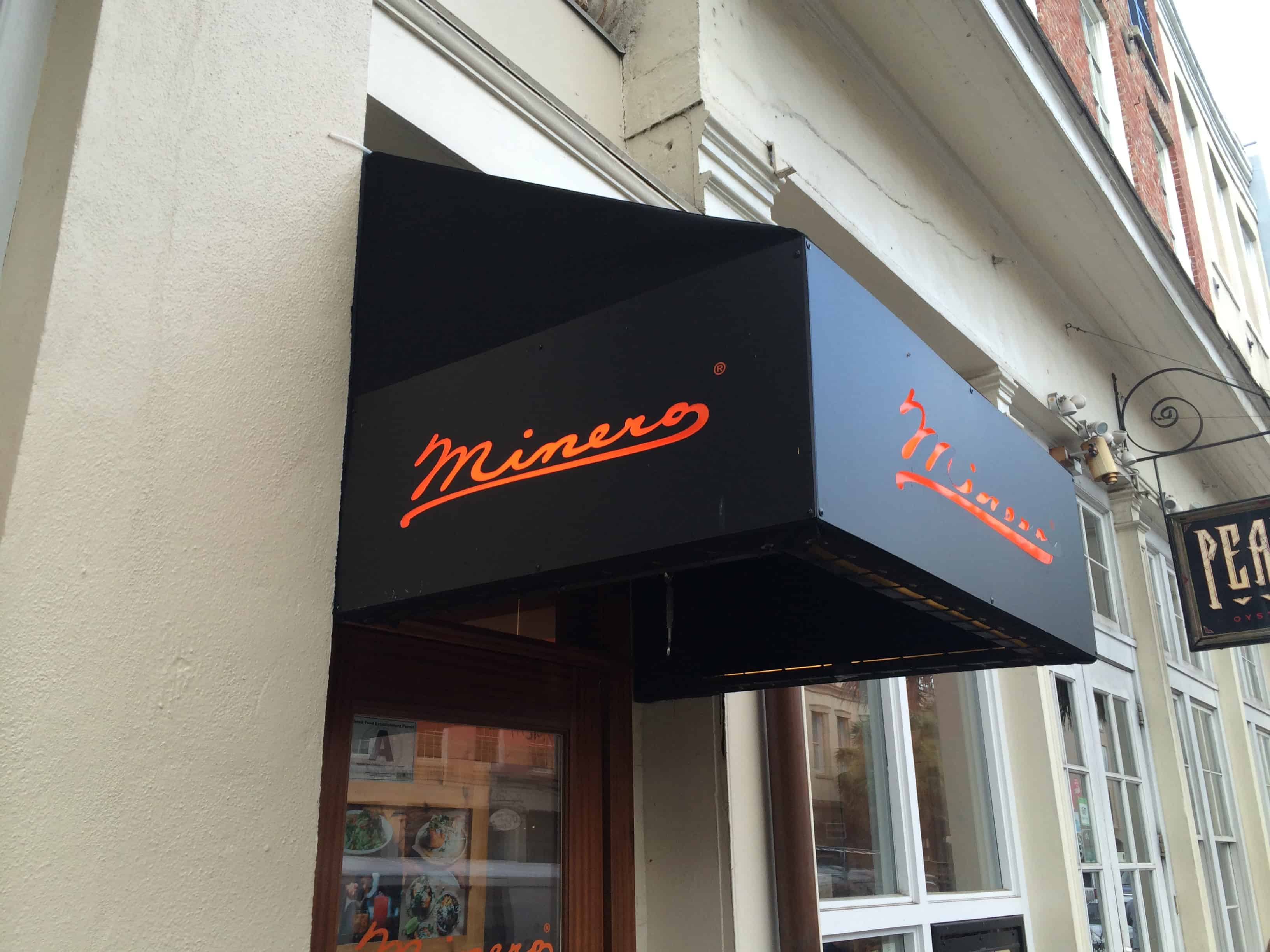 Minero Restaurant Review - Charleston Crafted