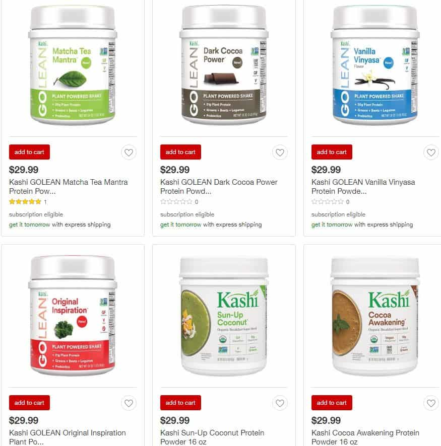 Kashi protein at Target - Charleston Crafted