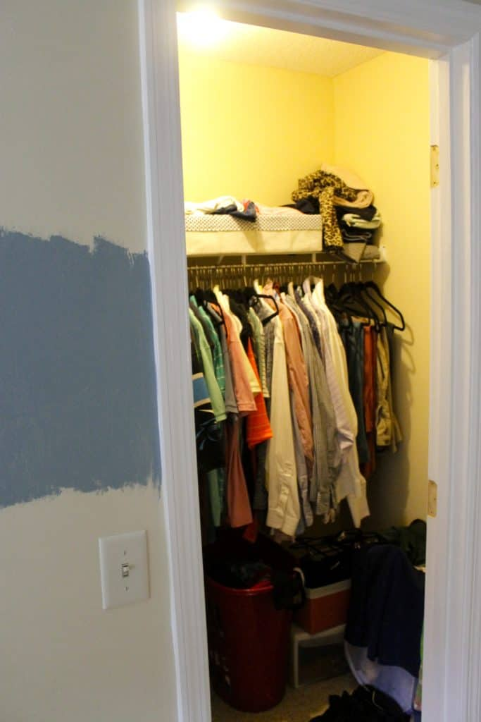 Removed Closet Door - Charleston Crafted