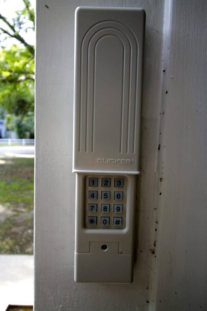 How to Replace a Garage Door Keypad - Charleston Crafted