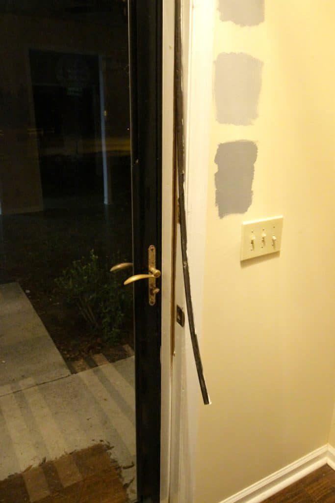 Replacing Weather Stripping - Charleston Crafted