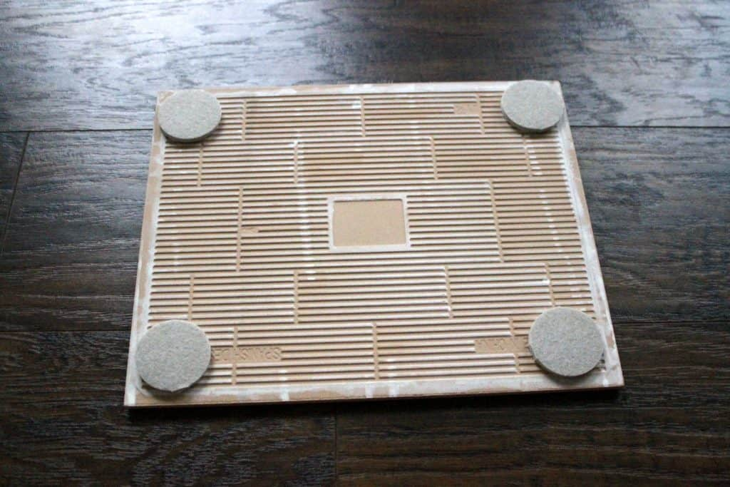 Super Simple DIY Tray From a Tile - Charleston Crafted