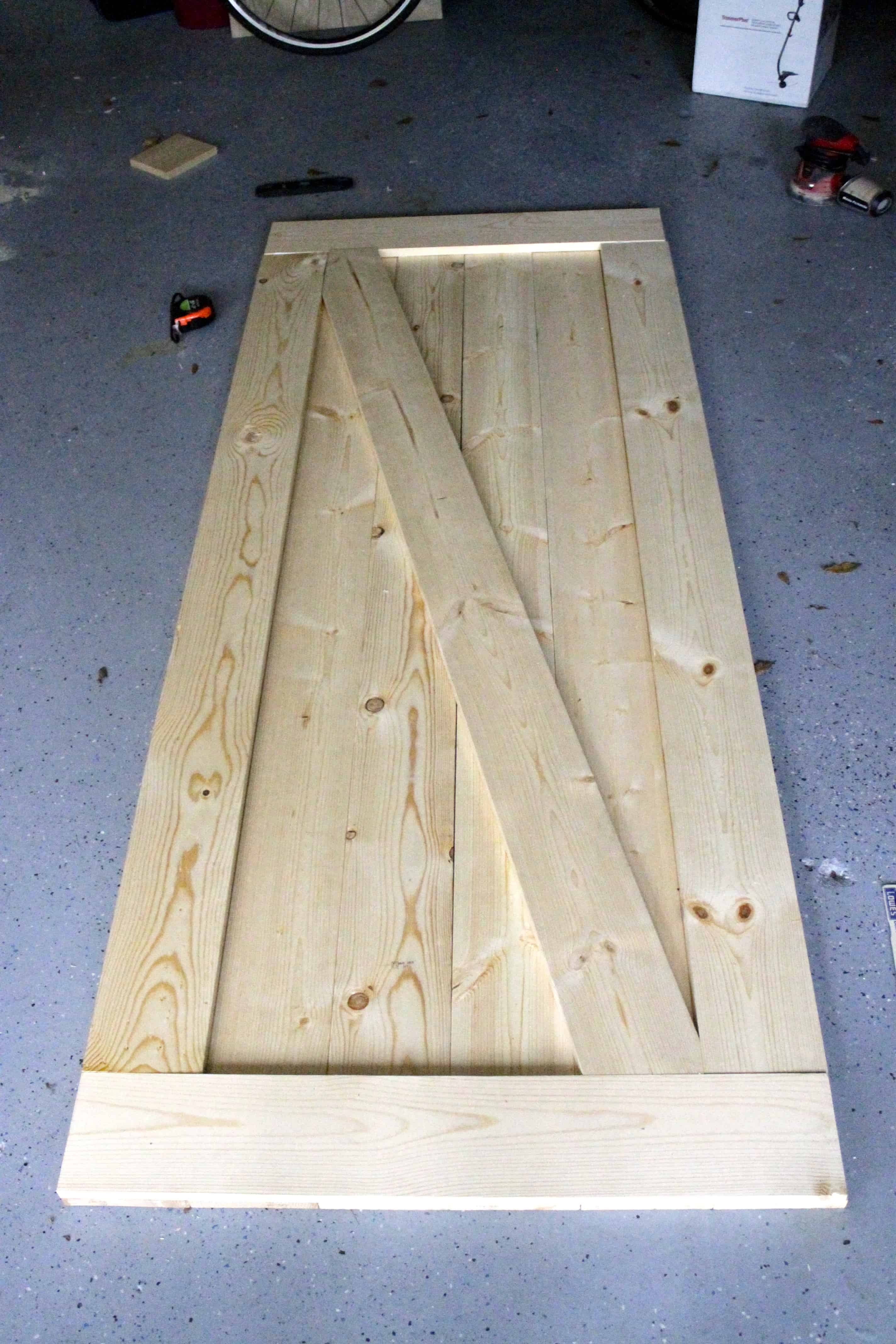 Easiest Cheapest Way To Build A Rustic Barn Door Charleston Crafted