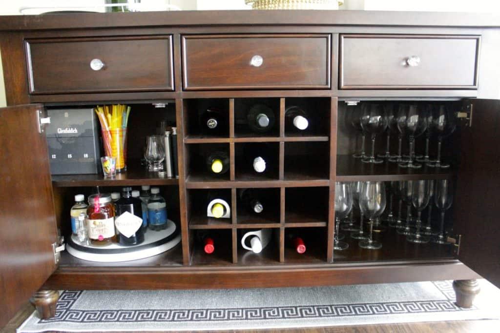 A New Bar Set Up - Charleston Crafted