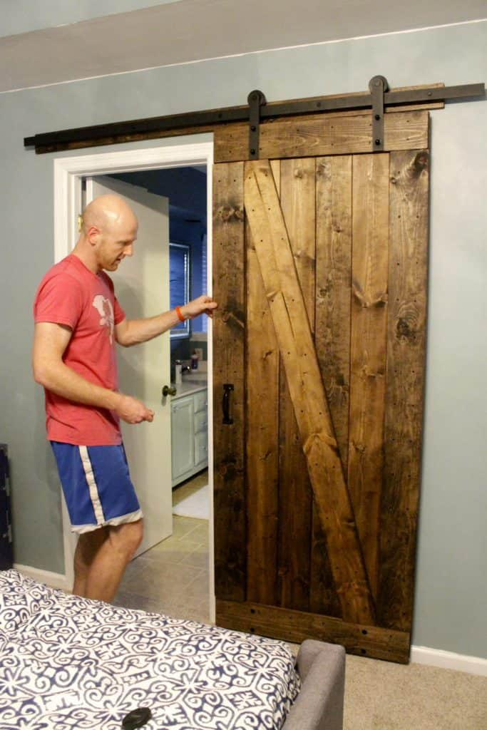 How to Mount a Barn Door - Charleston Crafted