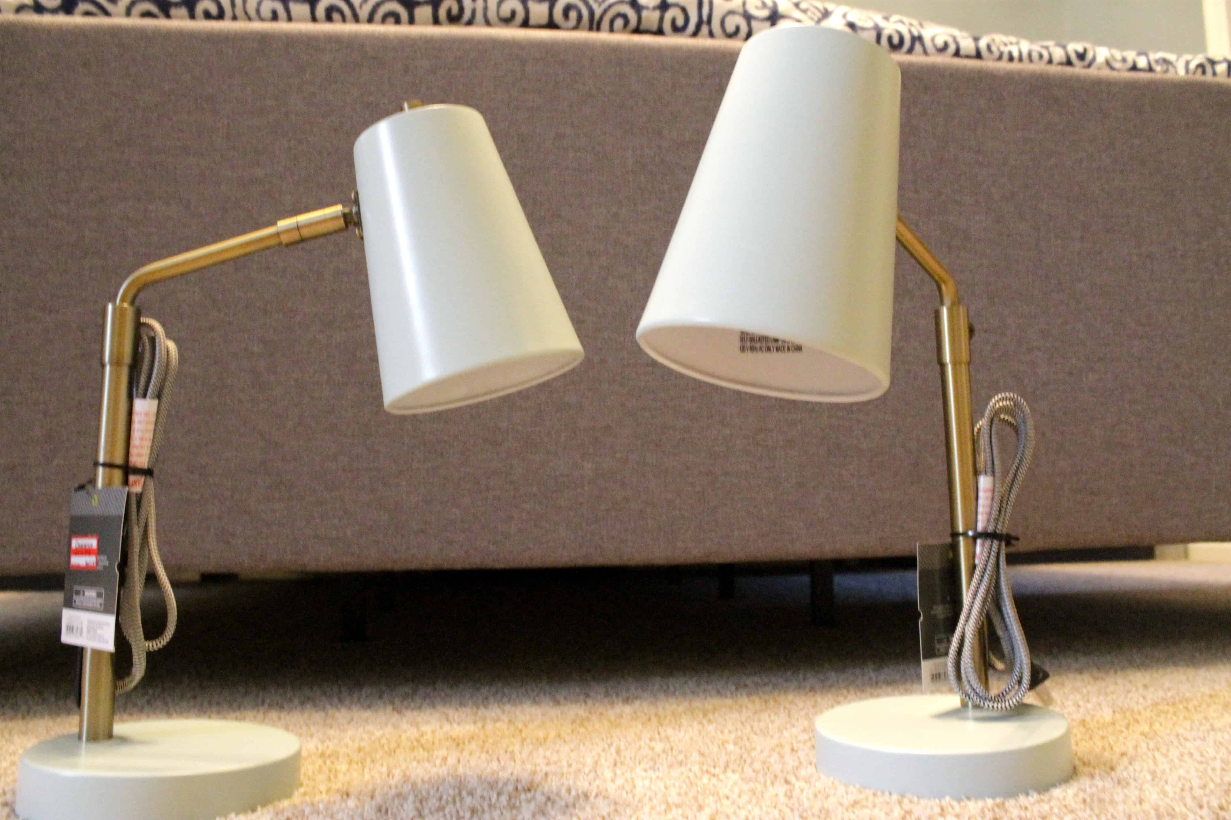 mounting desk lamps on the wall. Black Bedroom Furniture Sets. Home Design Ideas