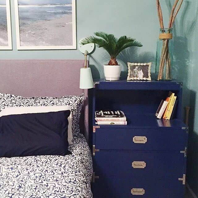 A Campaign Dresser and Side Table Makeover via Charleston Crafted