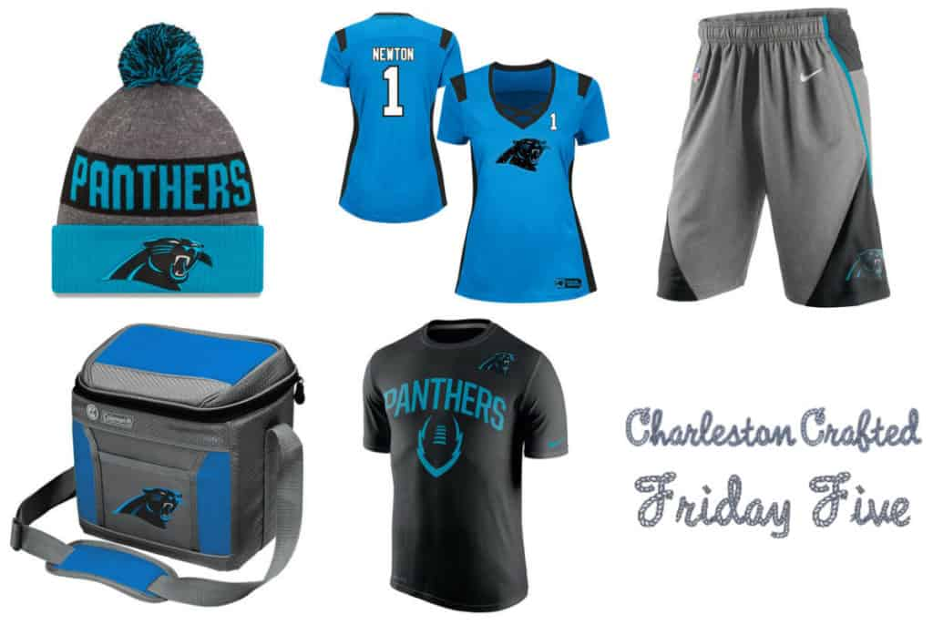 Friday Five - Carolina Panthers Gear - Charleston Crafted