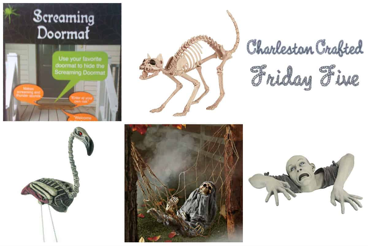 Friday Five - Halloween Yard Decor via Amazon - Charleston Crafted