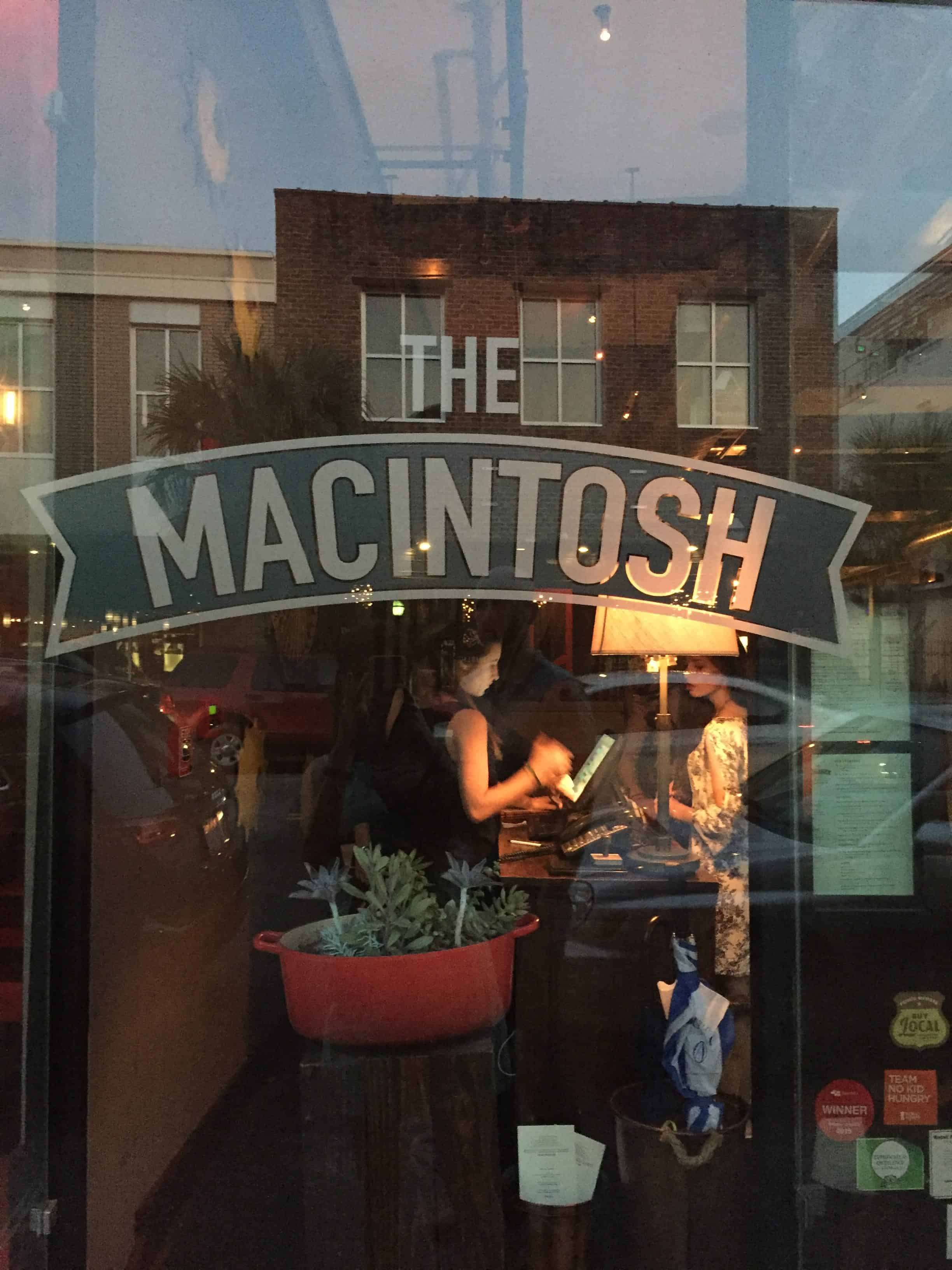 Restaurant Review: The Macintosh