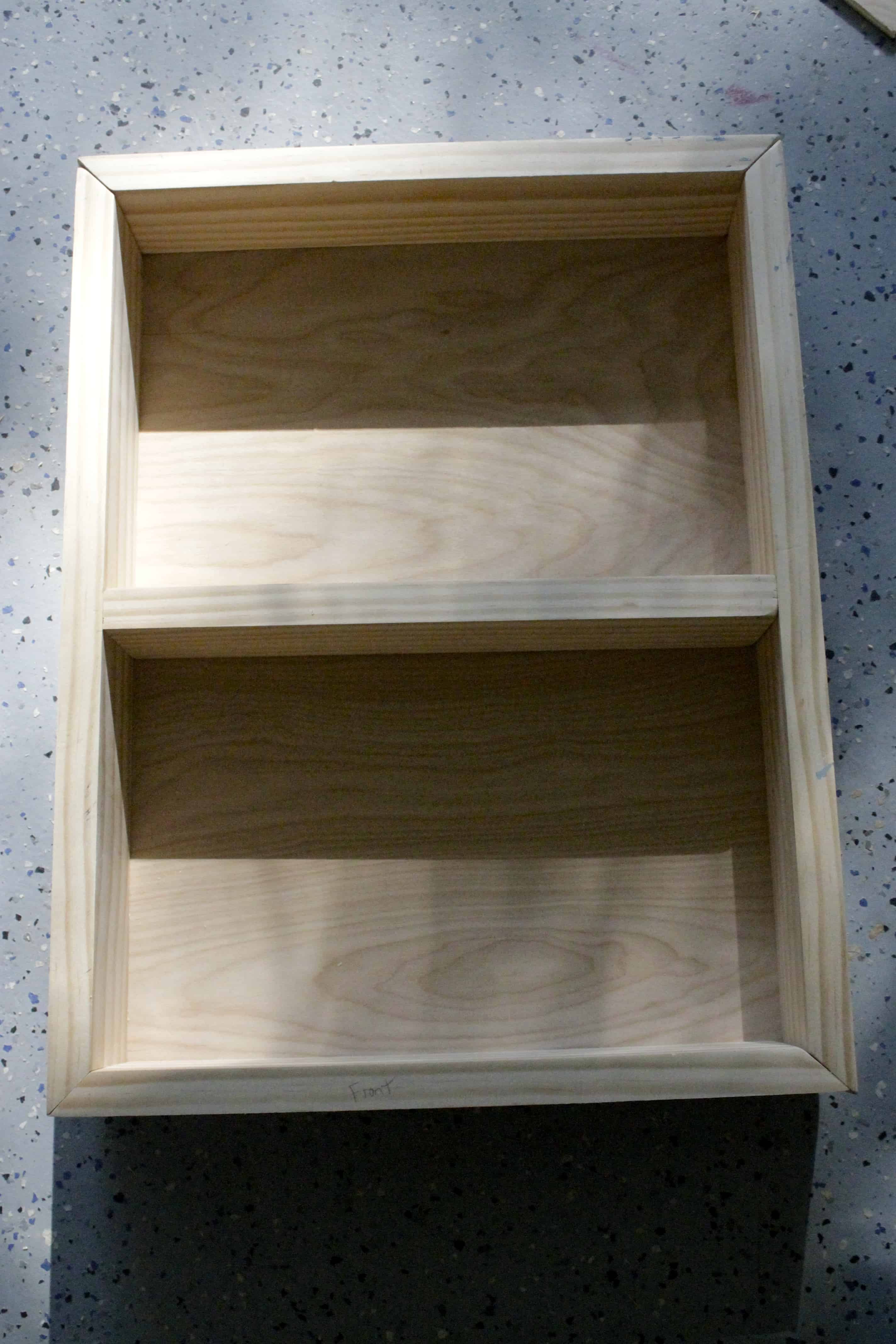 Old Medicine Cabinet Into Open Shelving