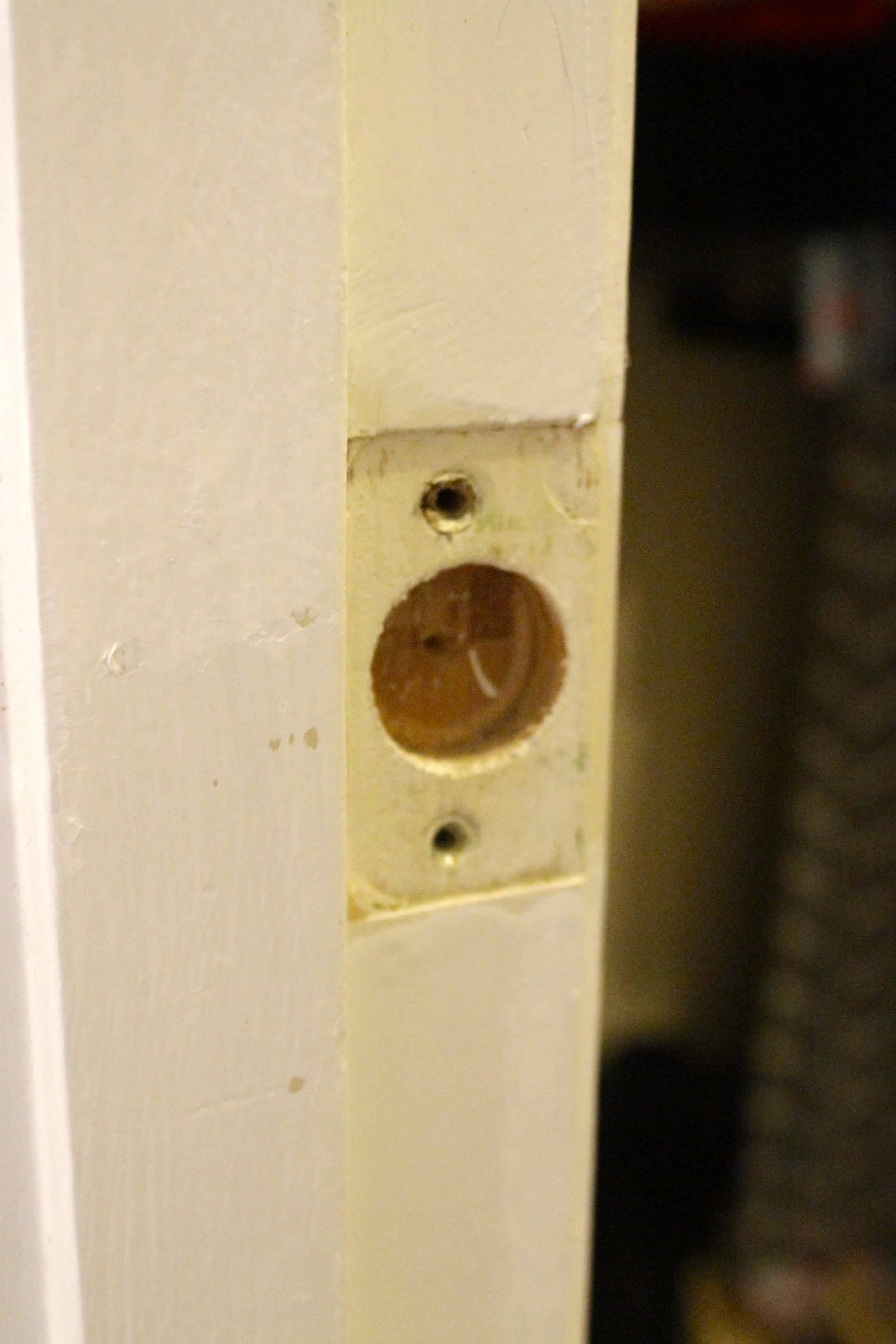 How To Repair A Door Jamb After Removing The Door