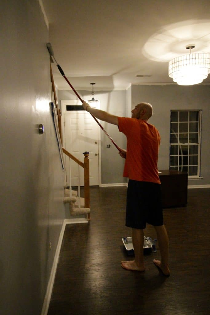 Painting the Front Room - Charleston Crafted