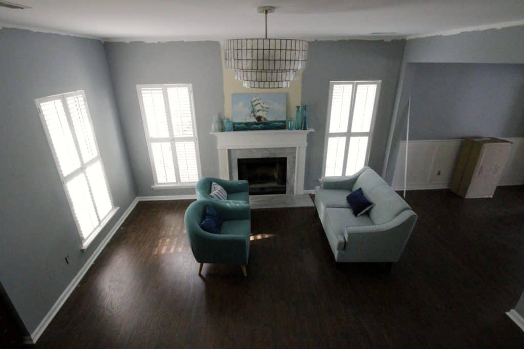 One Room Challenge Coastal Living Room - Charleston Crafted