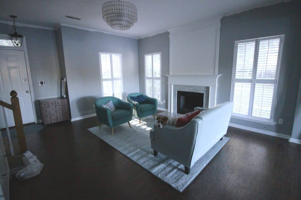 Front Room Layout Options - Charleston Crafted