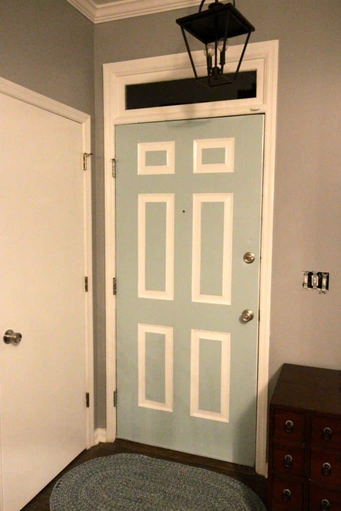 Front Door Makeover - Charleston Crafted