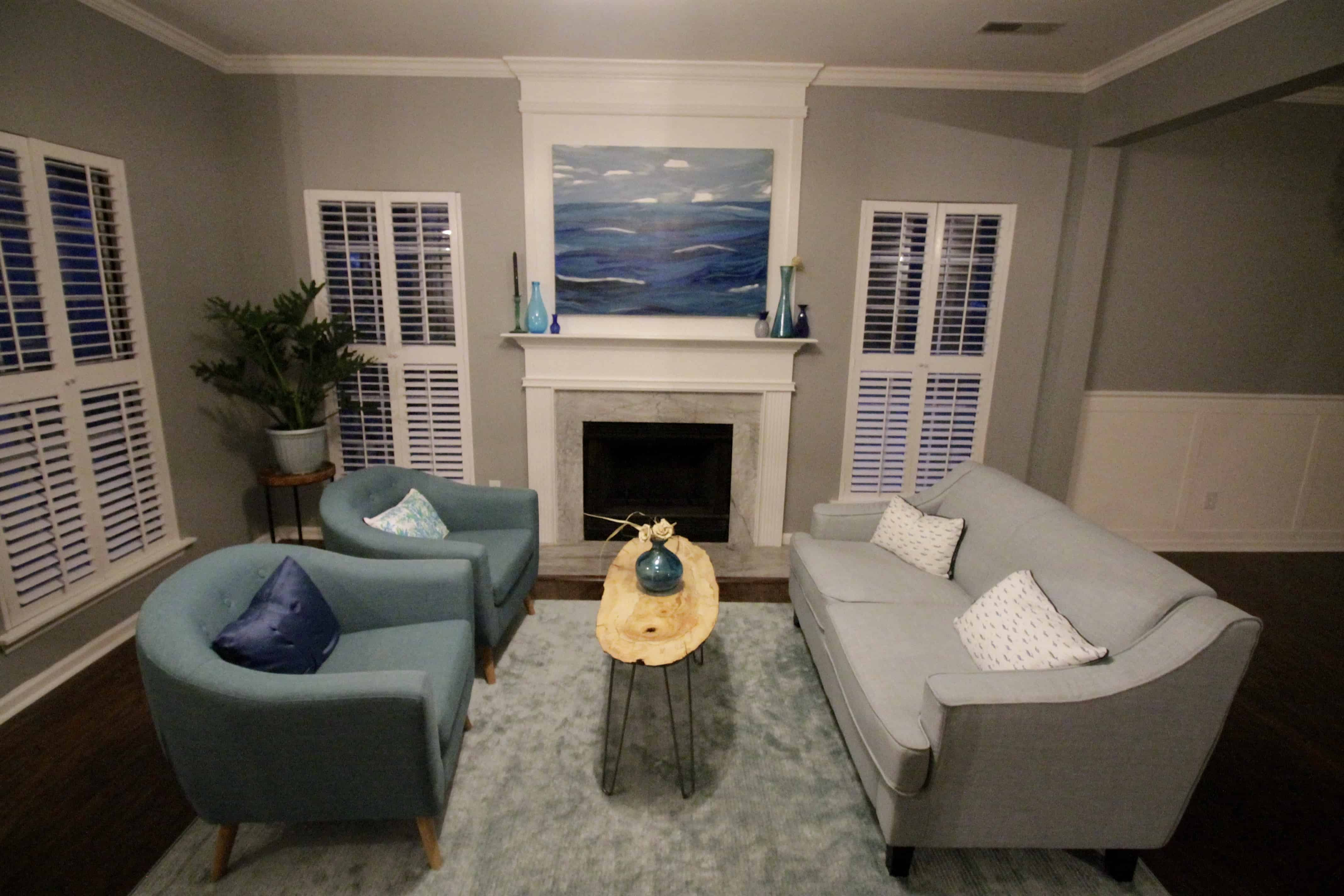 ORC Coastal Front Room Reveal - Charleston Crafted