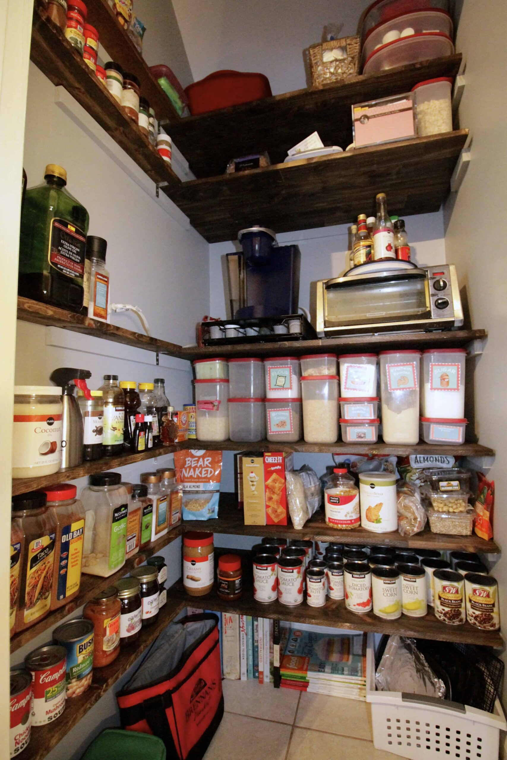 Our Complete Pantry Remodel - Charleston Crafted