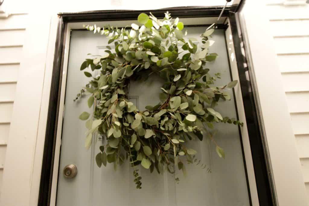 DIY Eucalyptus Wreath Under $20 - Charleston Crafted