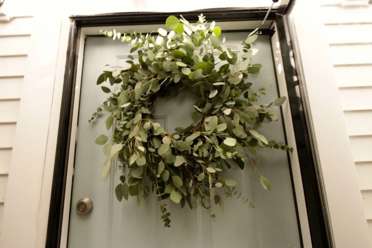 DIY Eucalyptus Wreath Under $20