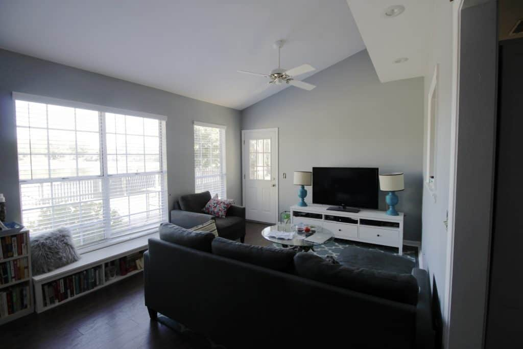 We Painted Our Sunroom - Charleston Crafted