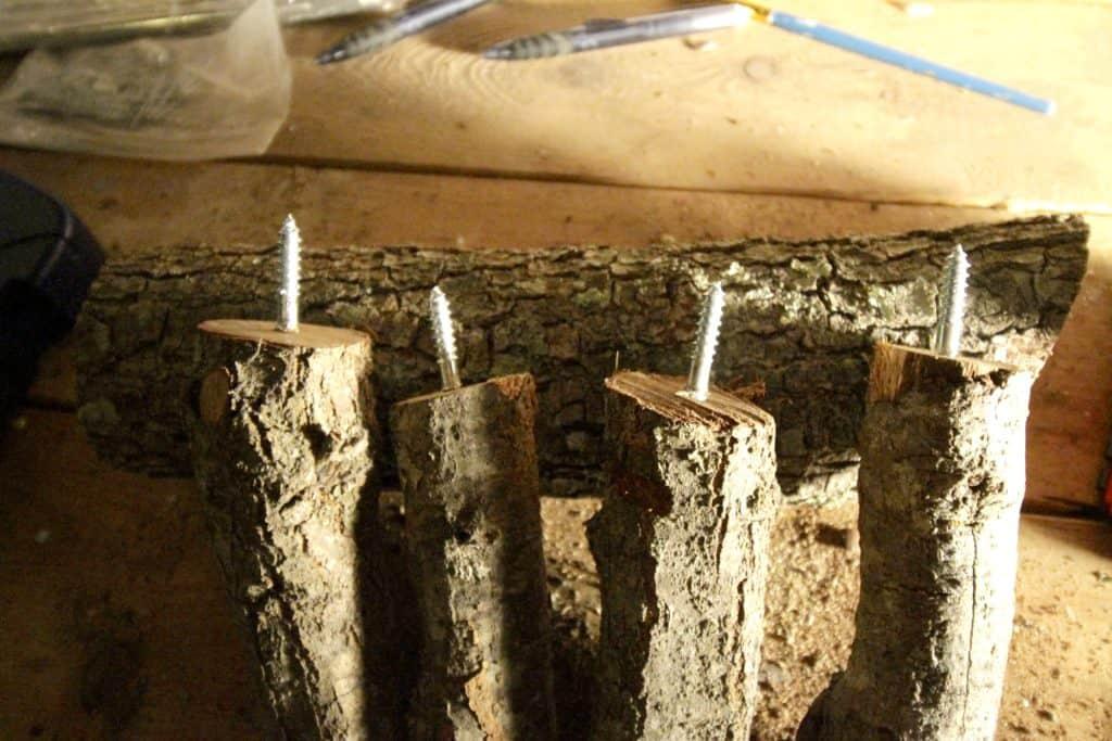 Easy DIY Wood Slice Reindeers! - Charleston Crafted