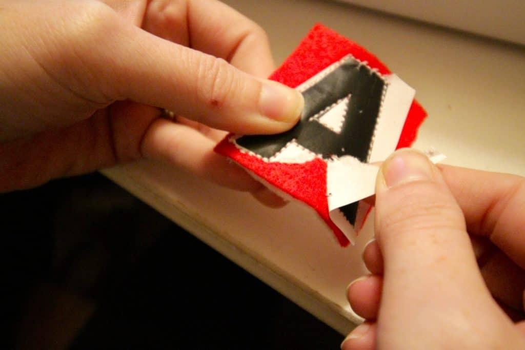 DIY Felt Letter Garland Tutorial - Charleston Crafted