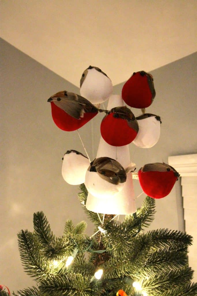 DIY Flock of Birds Christmas Tree Topper - Charleston Crafted