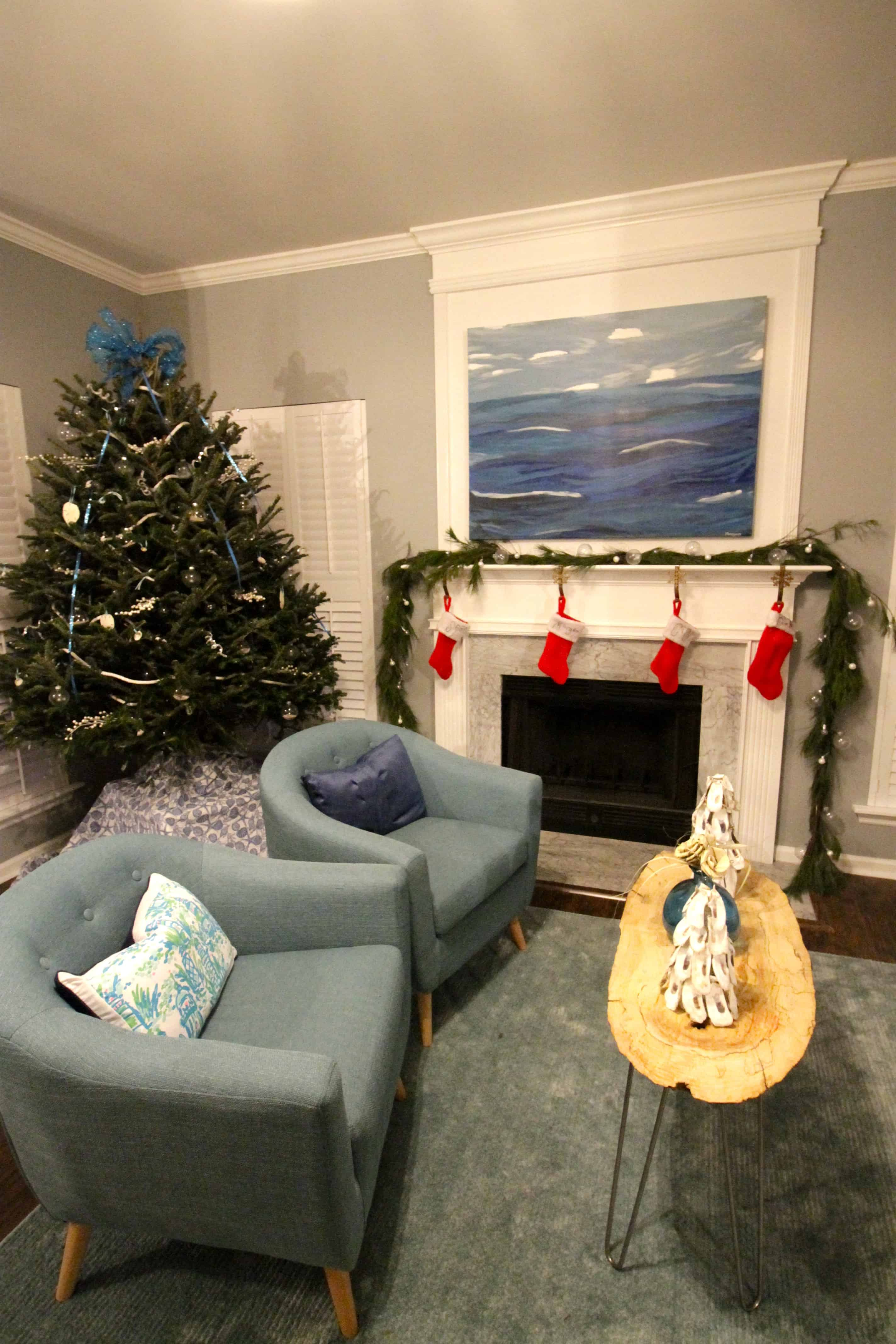 Our Indoor Christmas Decor 2016 - Charleston Crafted