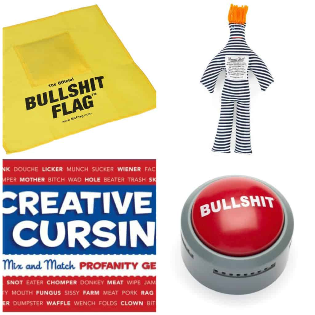 White Elephant Gift Ieas - Angry Gifts- Charleston Crafted
