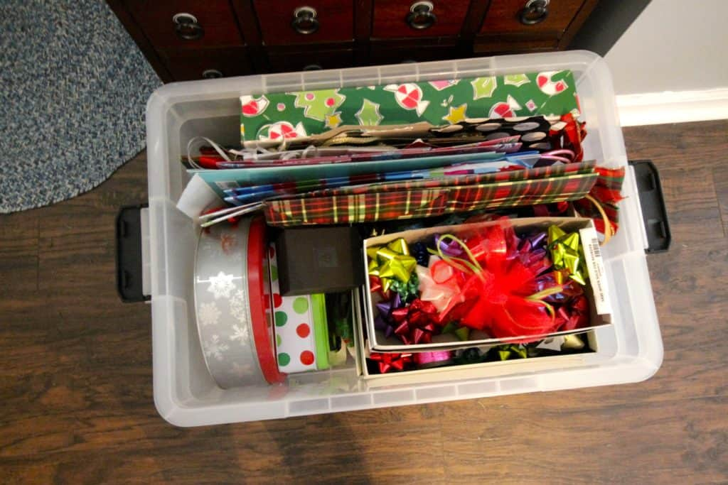 How To Organize & Store Christmas Decor - Charleston Crafted