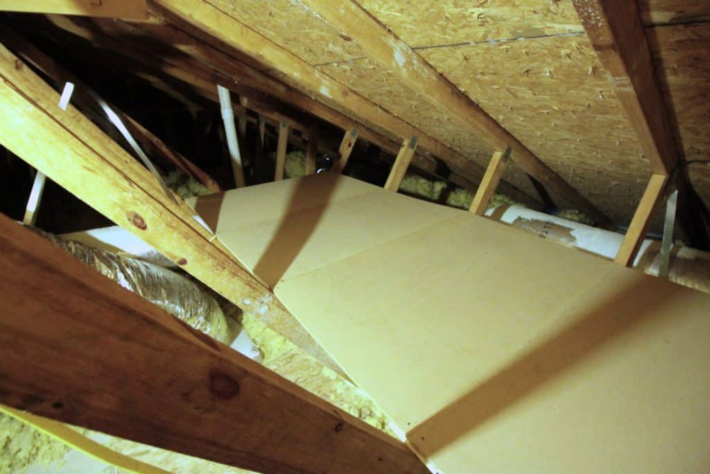 Creating Storage in a Cramped Attic - Charleston Crafted