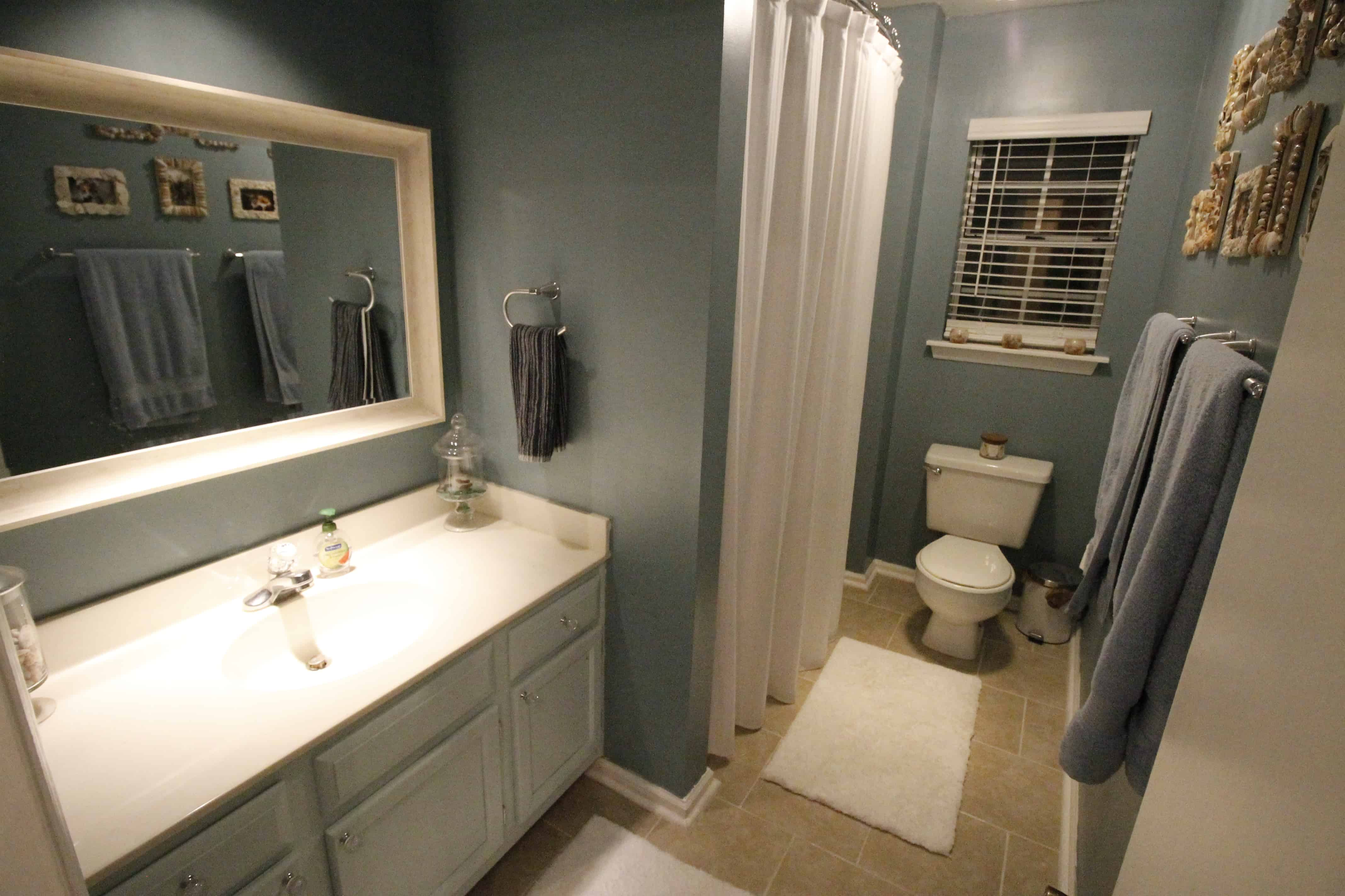 Guest Bathroom Mini Makeover